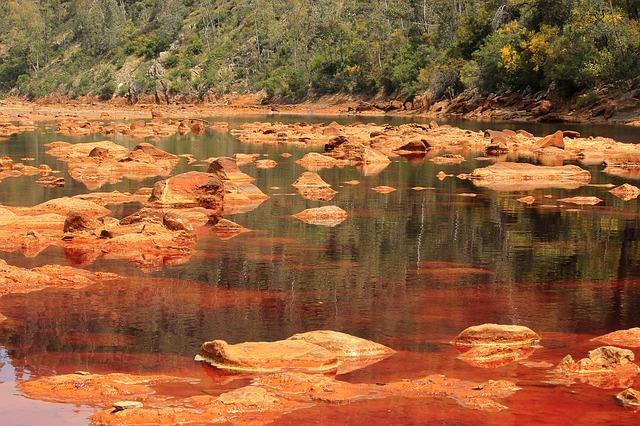 Contaminación de aguas de minería